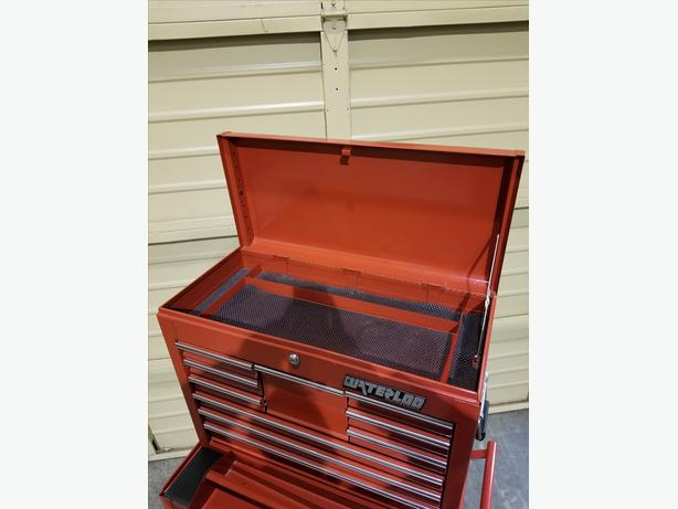 Waterloo Roller Cab & Top Chest Tool Box **Price Reduced**