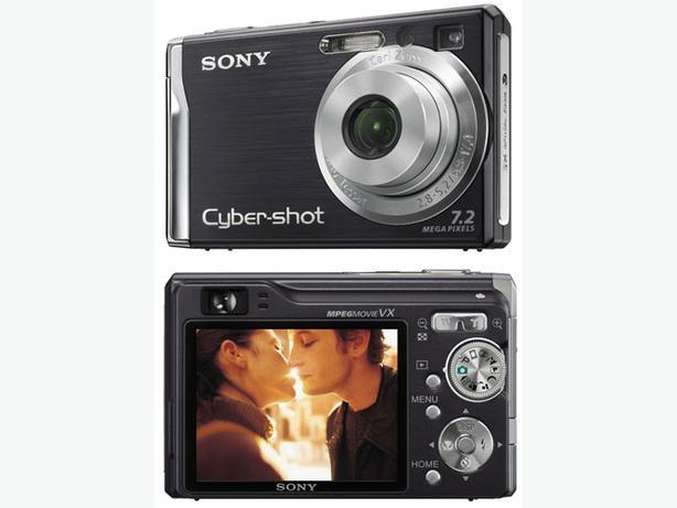 Sony 7.2MP cybershot compact digital camera
