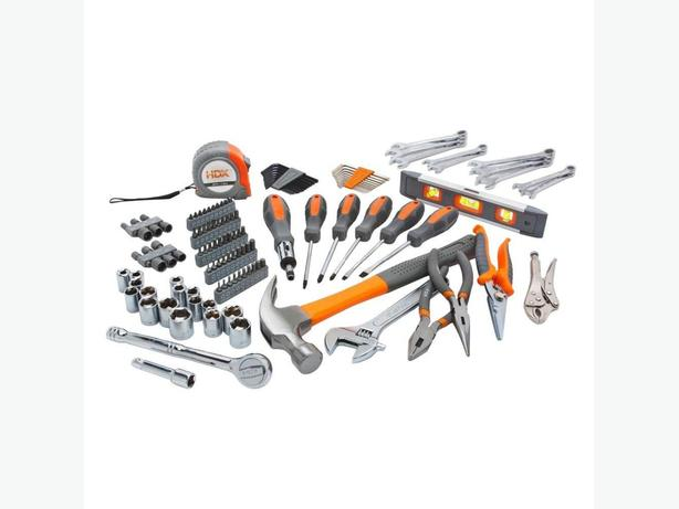 137 piece  home owners tool set.  Never been used. $50!
