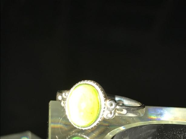 Authentic sterling silver Mood Ring