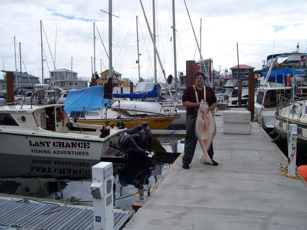 Halibut Fishing Charters in Victoria