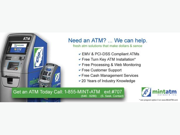 Free full ATM bank machine services