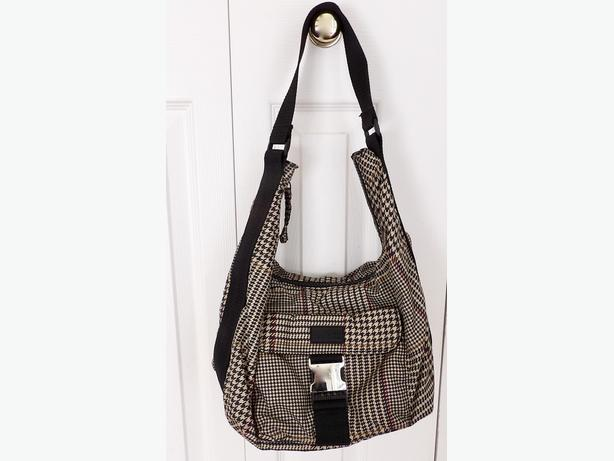 RALPH LAUREN Houndstooth Shoulder Bag / Purse