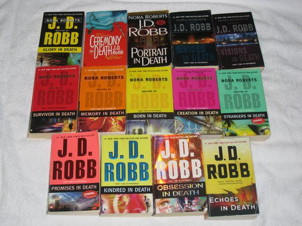 J.D. ROBB - NOVELS - GREAT SELECTION - CHECK IT OUT!