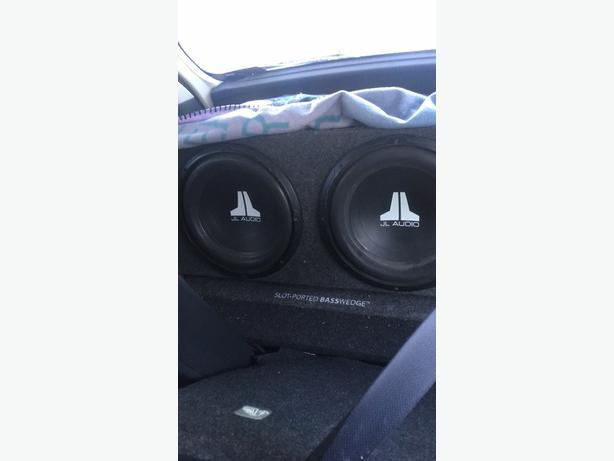 2 10' JL Audio subwoofers