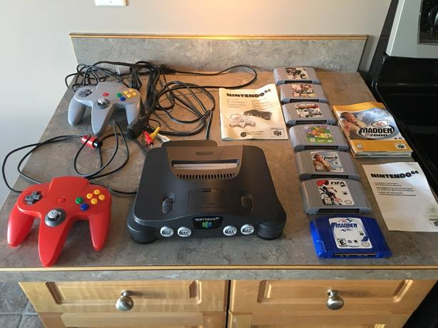 Nintendo 64 Game System with 7 games