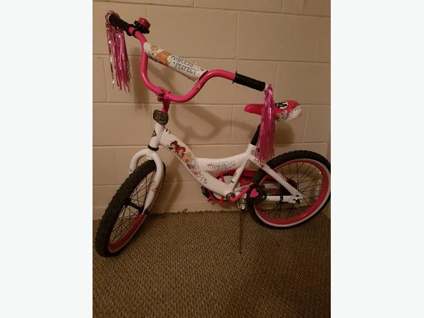 Girls Disney Princess Bicycle