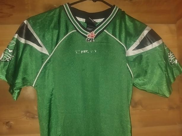 Saskatchewan Rough rider jersey