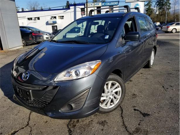 2012 Mazda Mazda5 GS BLUETOOTH, SATELLITE RADIO, ALLOYS