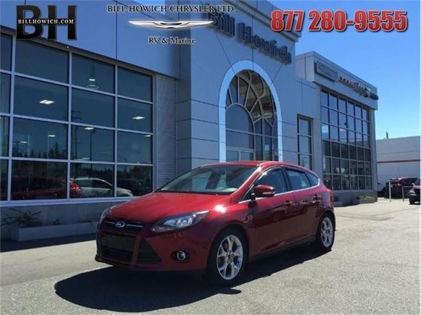 2013 Ford Focus Titanium - Bluetooth -  Heated Seats - $113.55 B/W