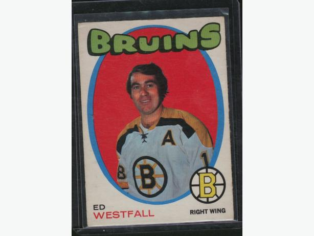 71-72 O Pee Chee #169 Ed Westfall Boston Bruins