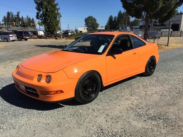 Imported From Japan! RHD, 1997 Honda Integra Type R, B18 DOHC VTEC Engine, 200HP