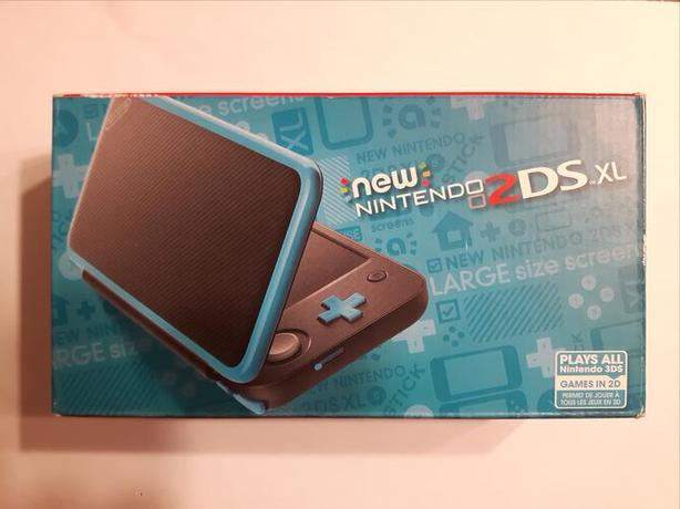 New Nintendo 2DS XL – Black & Turquoise - Brand New