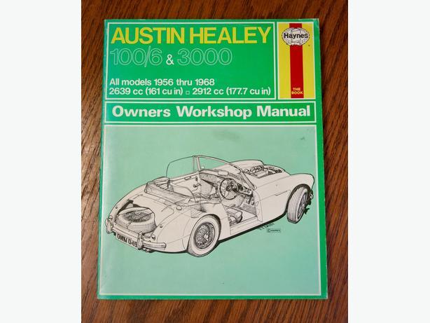 austin healey workshop manual