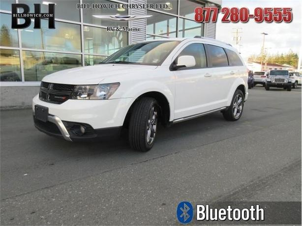2017 Dodge Journey Crossroad - Leather Seats - $175.87 B/W