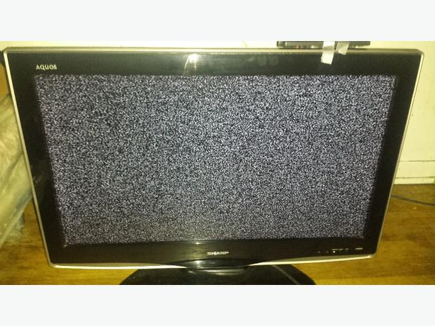 "32"" sharp aquos lcd tv"