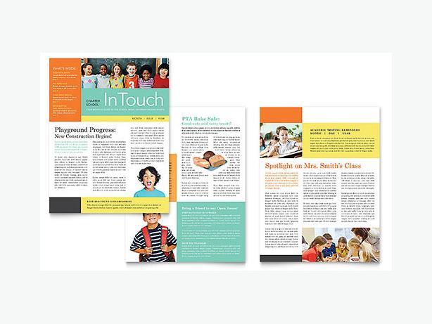 Newsletter , Brochure , Flyer Graphic Designing