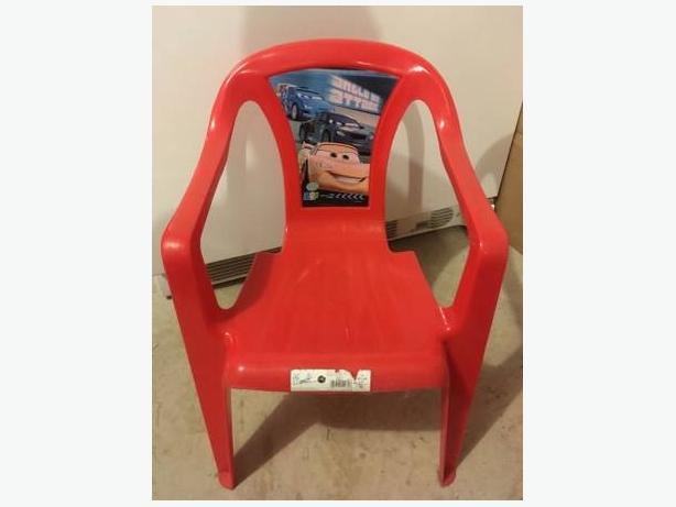 Kids Cars Plastic Chairs