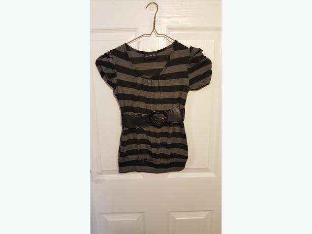 Girls top with belt (7/8)