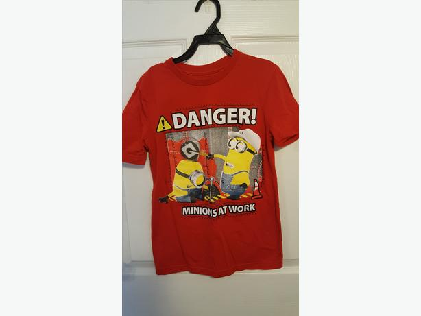 Minions light up shirt