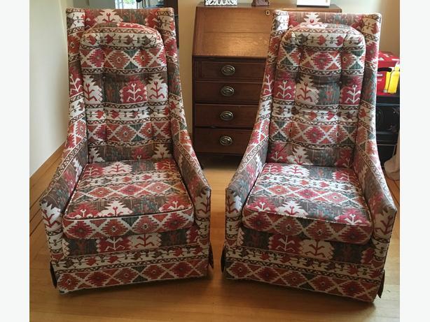 Vintage Mid-Century Modern Chairs