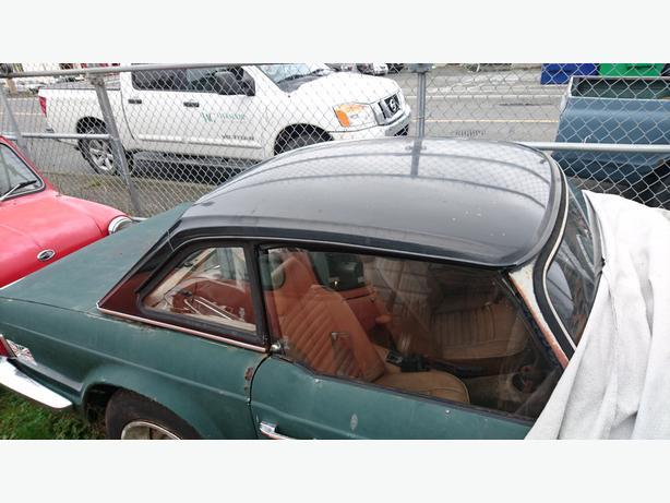 Triumph TR6 Factory Hardtop