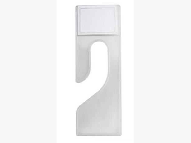 Clear Plastic Clothing Dividers