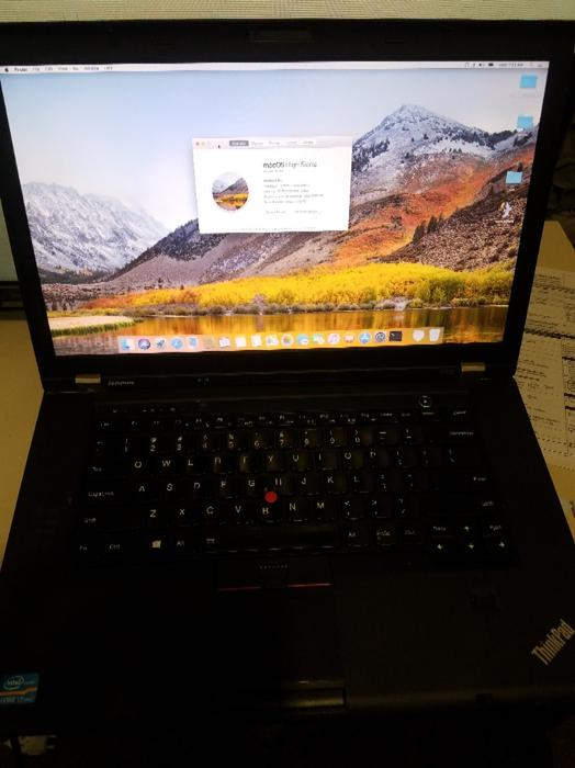 $500 · W530 Thinkpad - Hackintosh / Mac OSX High Sierra + Windows 10 Pro x64