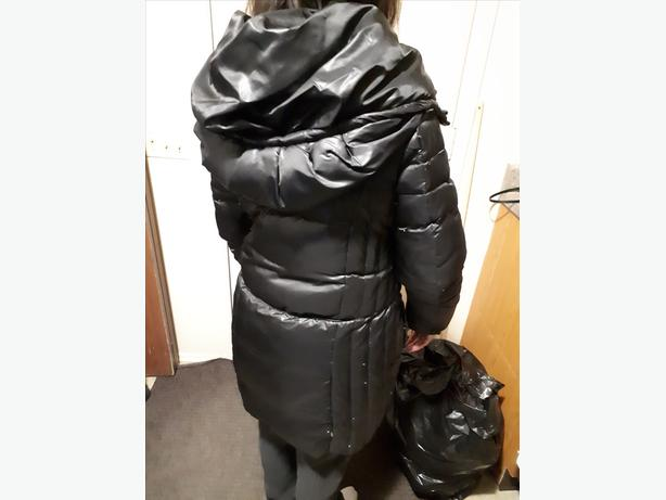 Black Attitude Winter Jacket - very Classy