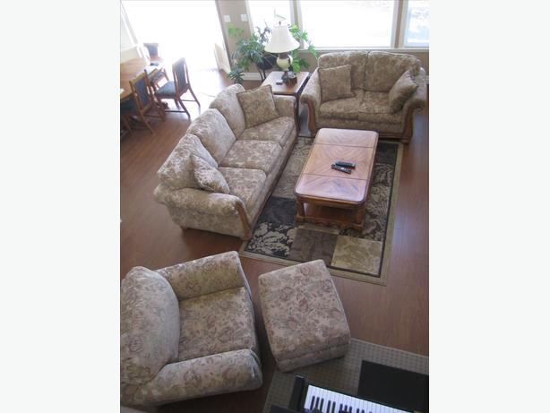 Sofa Set with sofa, loveseat, chair and ottoman