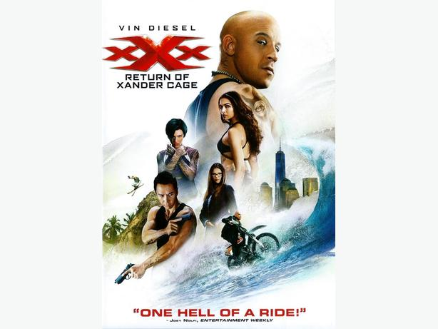 xXx The Return Of Xander Cage (DVD) - B2G1 Free!
