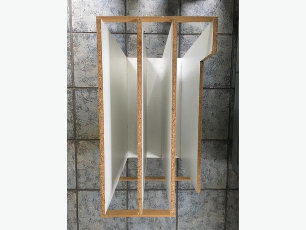 Kitchen Cabinet Tray Storage Unit