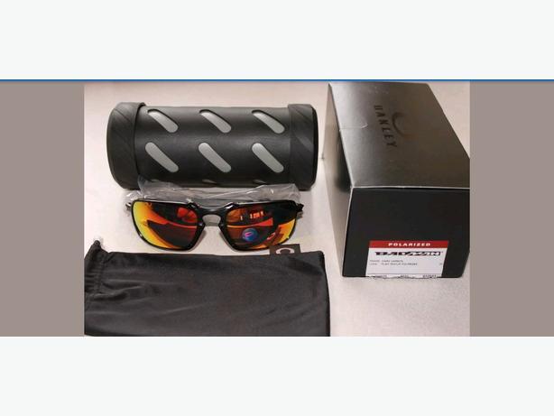 6c54a7ca46 Oakley Sunglasses Badman Carbon Ruby Iridium Polarized Victoria City ...