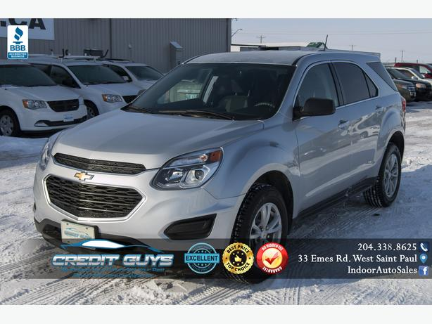 2017 Chevrolet Equinox LS AWD #I6219 INDOOR AUTO SALES WINNIPEG