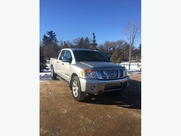 2008 Nissan Titan LE Long box