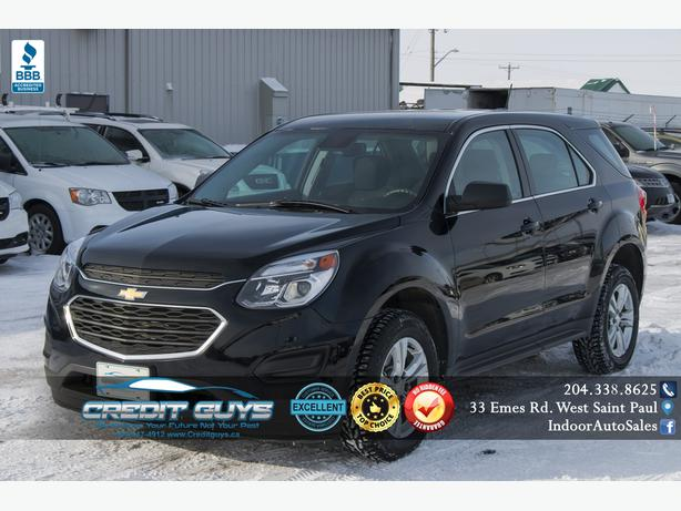 2017 Chevrolet Equinox LS I6223 INDOOR AUTO SALES WINNIPEG