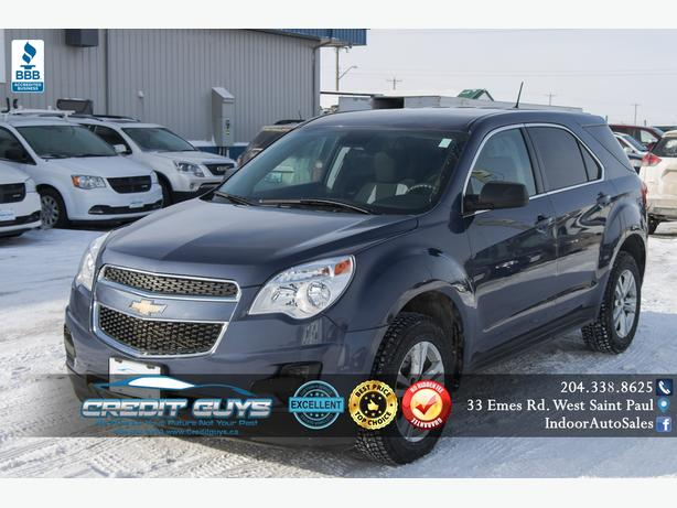 2014 Chevrolet Equinox LS #I6220 INDOOR AUTO SALES WINNIPEG