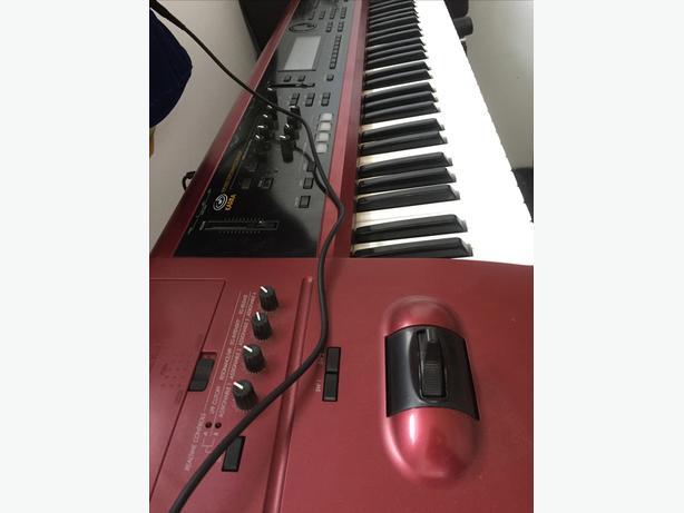 KORG KARMA synth keyboard work station.