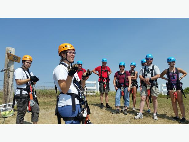 Wanted: Part-Time Zipline Tour Guides