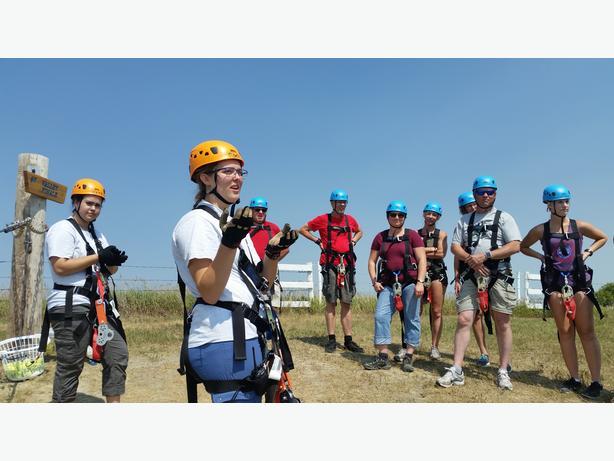 Part time- Zip Line Tour Guides