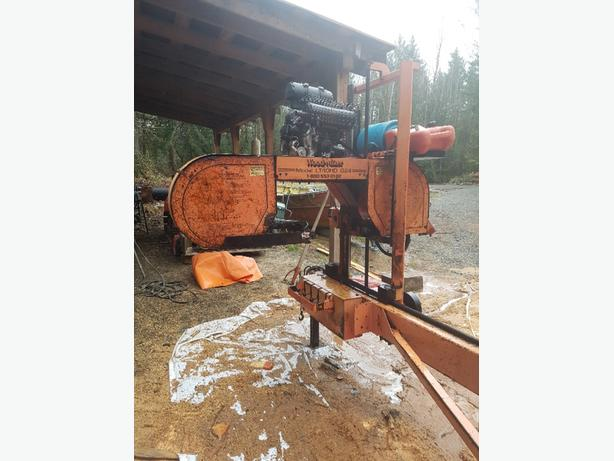 Wood-Mizer LT 40 HD Outside Comox Valley, Comox Valley - MOBILE