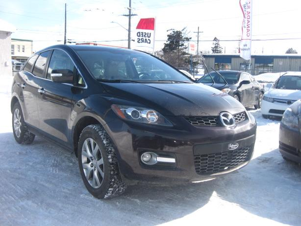 2009 Mazda CX7 AWD/LTHR/ROOF, 12M.WRTY+SAFETY $6900
