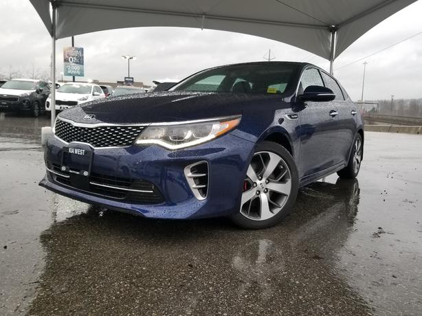 2017 Kia Optima SXL Turbo