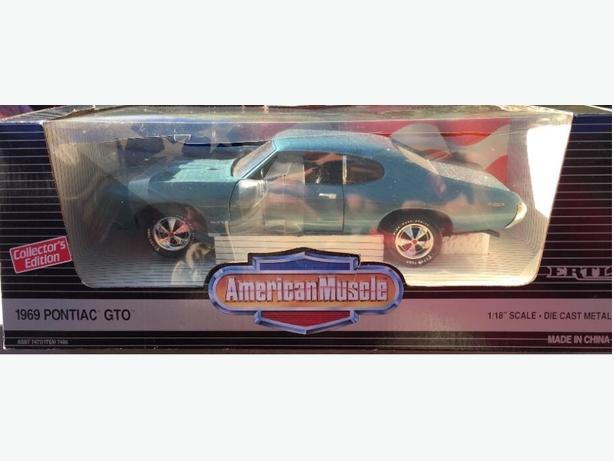 1969 Pontiac GTO 1/18 Diecast