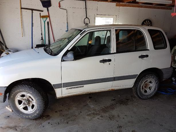 2000 Chevy Tracker 4x4