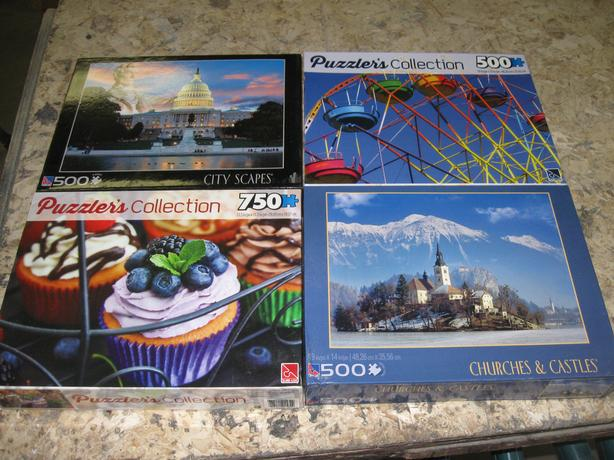 Jig Saw Puzzles FOR-TRADE or Sale