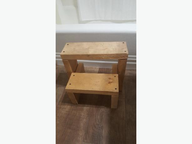hand made stool