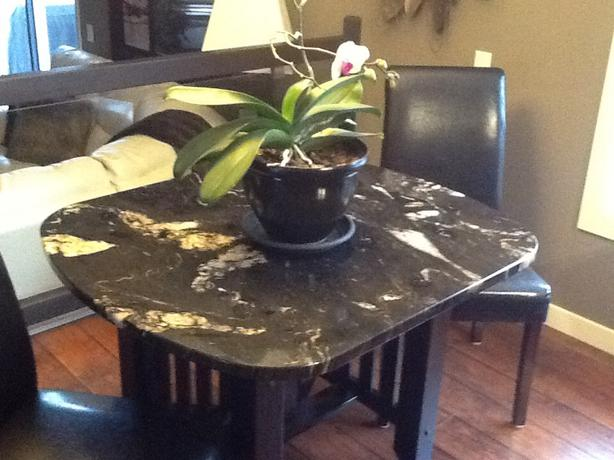 Granite dining set