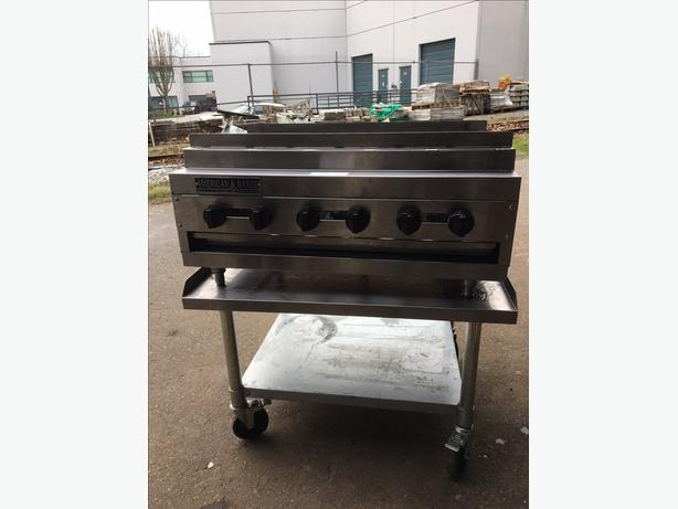 """Heavy Duty 36"""" American Range Kebab Broiler"""