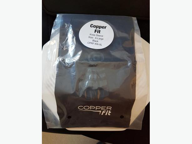 NEW NEVER OPENED (was $20) COPPER FIT KNEE COMPRESSION SLEEVE
